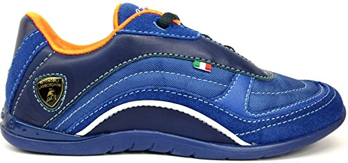 lamborghini-race-one-blue-orange-kids-leather-trainers-shoes