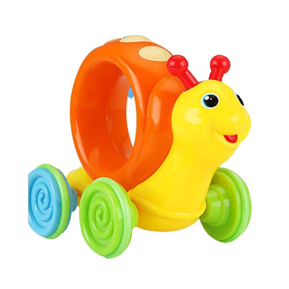 2017 nuevo coche creativo encantador del caracol juega los juguetes coloridos del juego de los niños de los cabritos