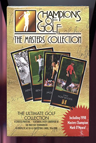 1997 1998 Grand Slam Ventures GSV Champions of Golf The Masters Collection (Masters Golf Card)