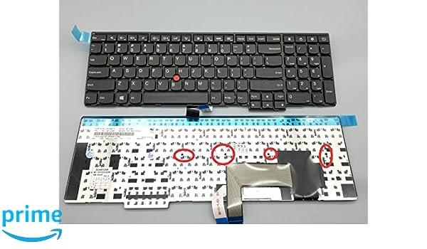 Amazon.com: New Keyboard for Lenovo Thinkpad E531 E540 Series US Layout Screwdriver Black Frame 4 Screws E531: Computers & Accessories