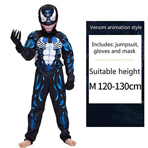 MSSJ Simbionte Spiderman Venom Disfraz Traje Mono máscara ...