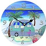 Cheap Airstream Camper Wall Clock