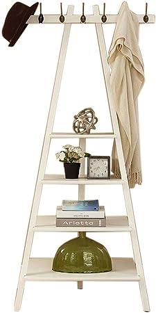 shengshiyujia Estantes de Madera Estante de Libros Triángulo Estante de Pared Múltiples Funciones Gancho de la Escalera Estante de Escalera portátil: Amazon.es: Hogar