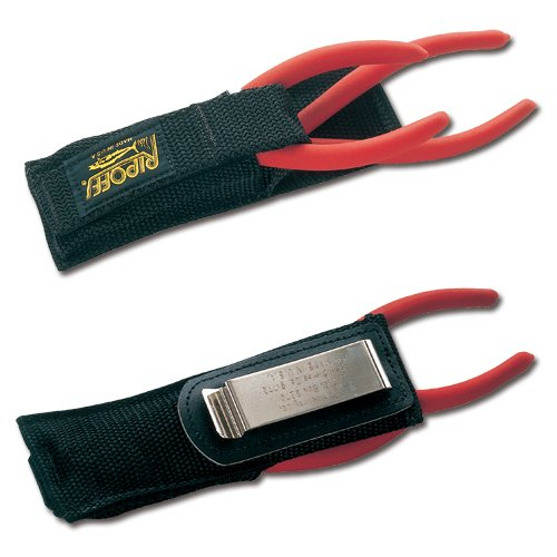 Nylon Clip On Double Sheath w/Security Strap Double Plier Sheath