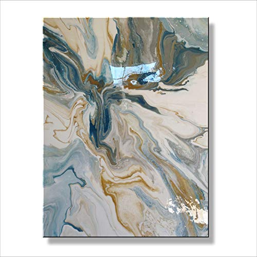 Framed Resin (Eloise World Studio Abstract Modern Canvas Painting Limited Edition Framed Resin Coated)