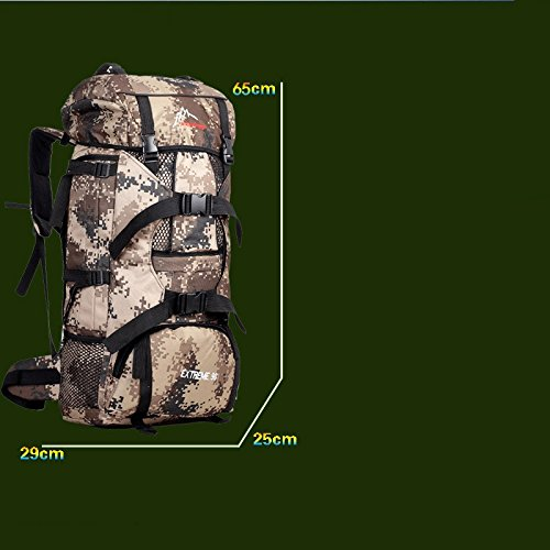 Amazon.com: Outdoor Hiking Backpack, 70 Liters, Ultimate Travel Bag: Sports & Outdoors