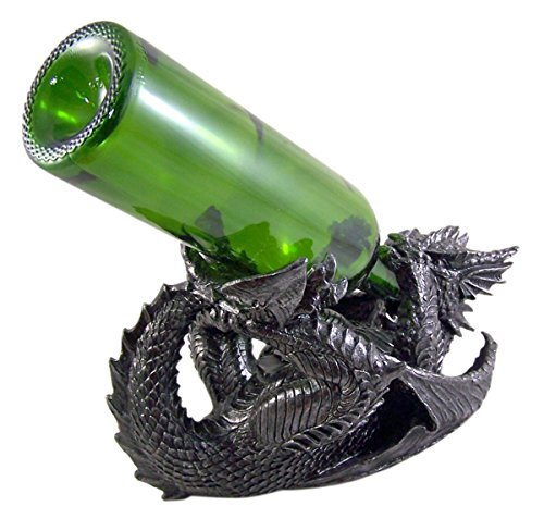 Gothic Dragon Wine Bottle Holder 6 3/4 Inch by Dragon Wine Display (Image #1)