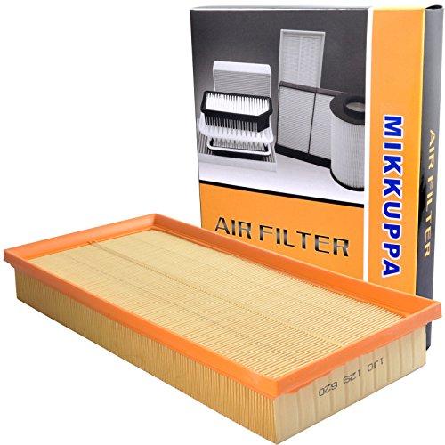 MIKKUPPA KQ026D (CA8602) Flexible Panel Engine Air Filter Fits Volkswagen Jetta, Beetle, Golf/Audi TT Quattro, TT/VW GTI, Golf City