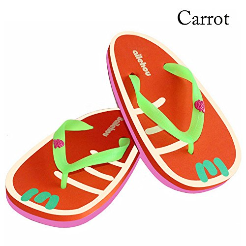 Years Calm - Sandalias de vestir de Material Sintético para mujer Carrot