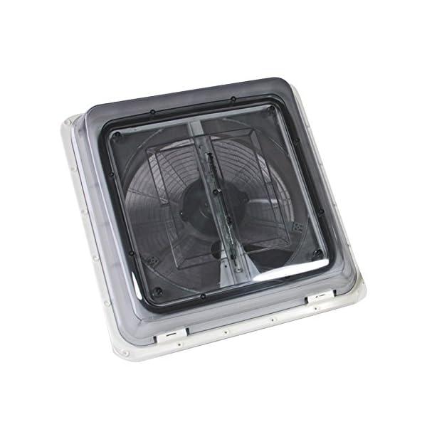 51Fa%2BmVm%2BgL Fiamma Turbo Vent Crystal Kurbeldachhaube Polar Control mit Thermostat 40 x 40 für Wohnwagen oder Wohnmobil