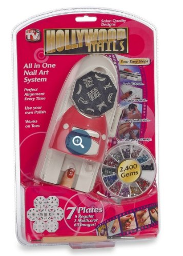 Amazon hollywood nails all in one nail art system nail art hollywood nails all in one nail art system prinsesfo Gallery