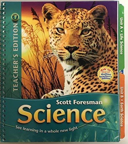 Scott Foresman Science Grade 6 Teacher S Edition Volume 1 Timothy Cooney 9780328310845 Amazon Com Books