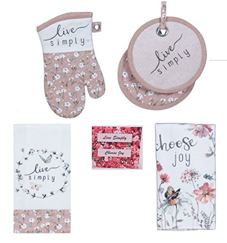 Simply Choose Butterfly Floral Kitchen