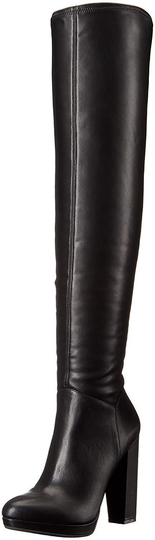 Jessica Simpson Women's Grandie Winter Boot, Black, 7 M US