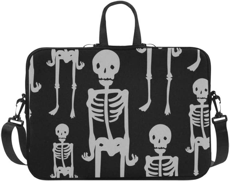 Mysterious Skeleton Black Tone Laptop Sleeve Neoprene Laptop Case Laptop Bag Laptop Cover
