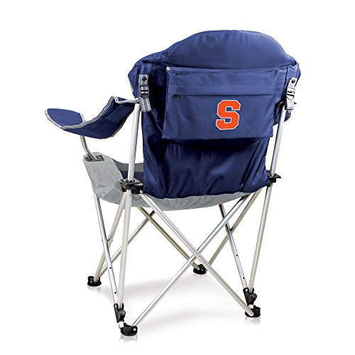- NCAA Syracuse Orange Reclining Camp Chair, Navy