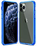 Electronics : Mkeke Compatible with iPhone 11 Pro Case, Clear Anti-Scratch Shockproof Cases Cover for iPhone 11 Pro 5.8 inch-Blue (Renewed)