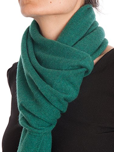 Dalle Piane Cashmere - Scarf 100% cashmere - Made in Italy - Woman/Man, Color: Green, One size
