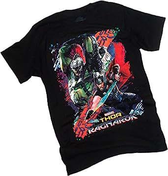 Thor: Ragnarok -- Battle Montage Adult T-Shirt, Small