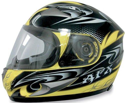 AFX FX-90 W-Dare Helmet , Size: Sm, Helmet Type: Full-face Helmets, Helmet Category: Street, Distinct Name: Yellow W-Dare, Primary Color: Yellow, Gender: Mens/Unisex 0101-5797