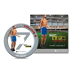 INSANITY: The Asylum Volume 2 Pure Contact 20-minute DVD Workout