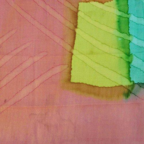 Mujeres Impreso de Moda Pura Salm de Bufanda de Cuadradas Bufandas 40 Bandana Seda Verano Pulgadas I4XRRH