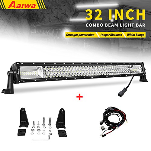 LED Light Bar Aaiwa Triple Row 32