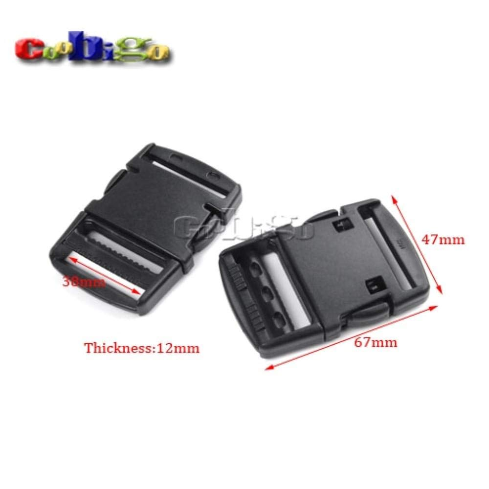 25pcs Pack 1-1/2(38mm)'' Strong Side Buckle for Luggage Tactical Backpack Ourdoor Bags