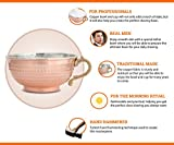 Copper Handmade Shaving Bowl and Cup – Turkish
