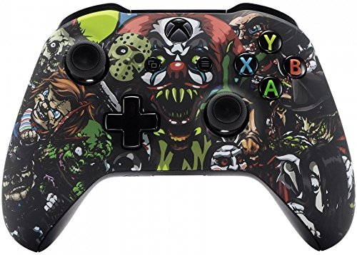 Xbox One Wireless Controller For Microsoft Xbox One   Custom Soft Touch Feel   Custom Xbox One Controller  Scary Party