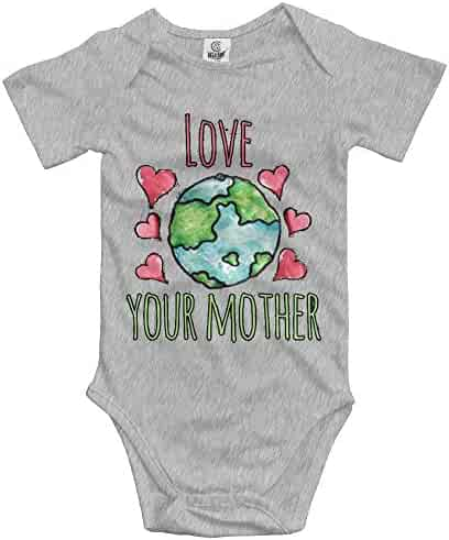 4df0b728e Rainbowhug Earth Day Unisex Baby Onesies Lovely Newborn Clothes Funny Baby  Bodysuit Comfortable Baby Clothes