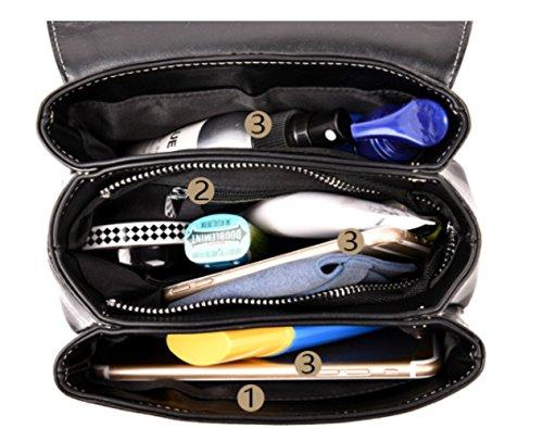 Pelle Spalla Della Viaggio Del Bag Scuola Sacchetto Shopping Girl Messaggero Verde Di Fashion In 8wP6BUWxYq