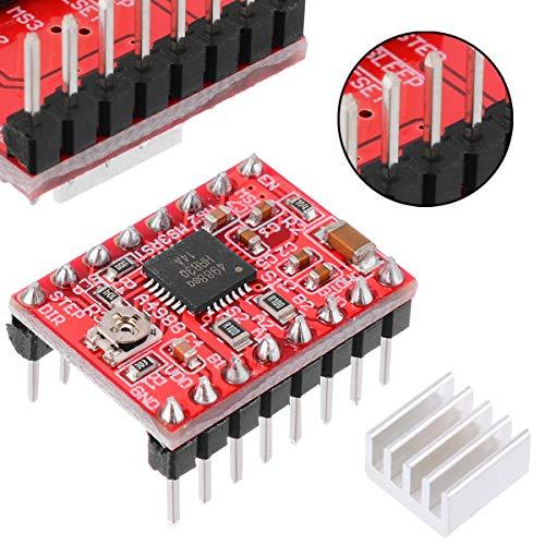 - Multi tools 5pcs Stepper Motor Driver 1.5x2mm A4988 Stepper Motor Driver Module 3D Printer Polulu StepStick RAMPS RepRap