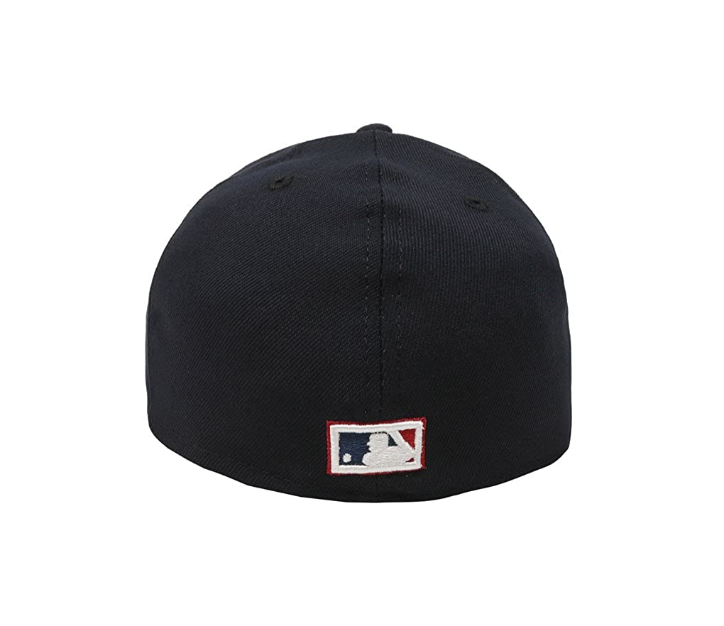 94896e69f3f54b Men's Hat Boston Red Sox Sandlot 25th Anniversary 59Fifty Fitted Navy Blue  at Amazon Men's Clothing store: