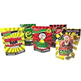 50 Mama Ganja Bags 5 x 7'' Assorted Mix Mylar Bags for Medical Marijuana Edibles [EMPTY]