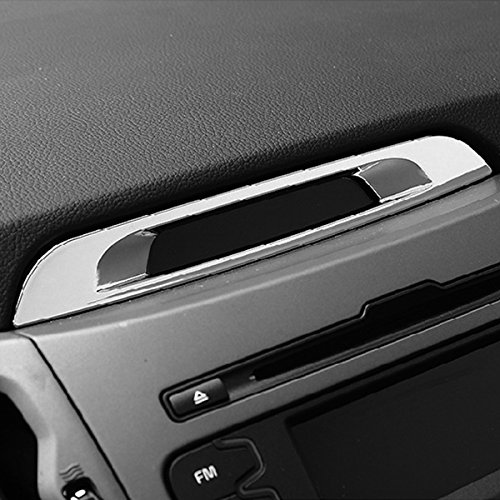 beler Auto Chrome Auto Innenkonsole Display Molding Abdeckung Trim