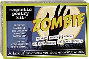 Magnetic Poetry - Zombie Kit - Words for Refrigerator - Write Poems and Letters on the Fridge