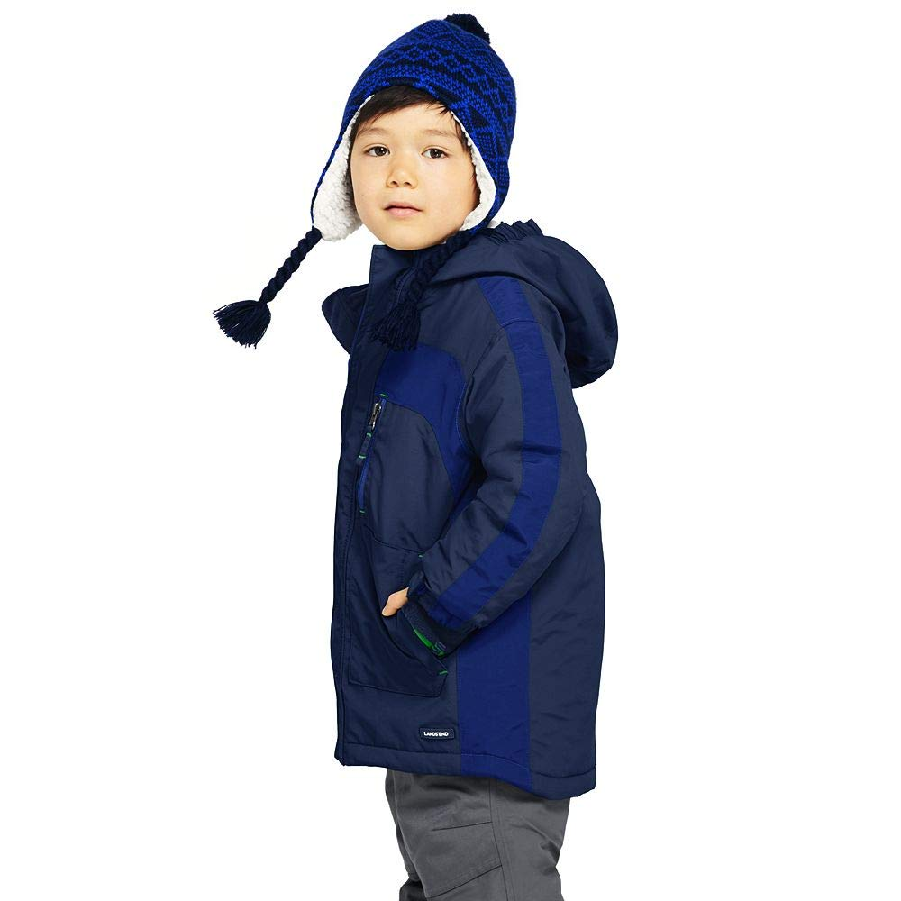 cfd239feb Amazon.com  Lands  End Boys Squall Waterproof Winter Parka  Clothing