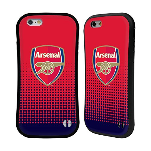 Official Arsenal FC Fade 2016/17 Crest Hybrid Case for Apple iPhone 6 / 6s