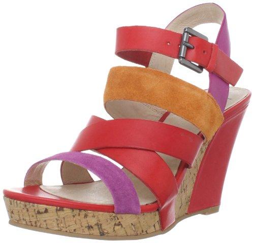 Bronx Womens Smart One Sandalo Cinturino Alla Caviglia Rosa