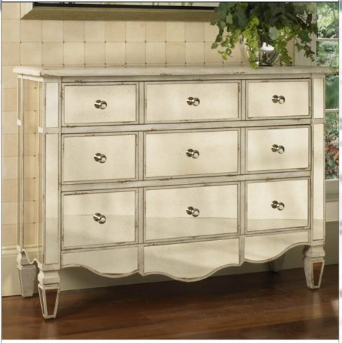UPC 628887001158, Hand-painted Mirrored Drawer Accent Chest