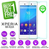 BisLinks® 100% Genuine Tempered Glass LCD Screen Protector Film For Sony Xperia M4 Aqua