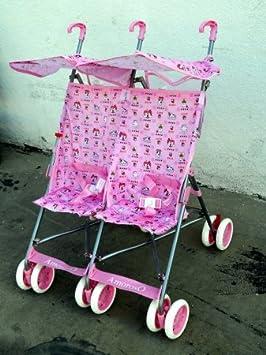 AmorosO Twin Baby Stroller, Blue Amoroso Enterprise USA 42702