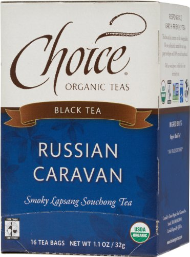 Choice Organic Russian Caravan lapsang tea