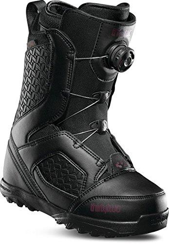 ThirtyTwo Women's STW Boa '18 Snowboard Boots, Size 9.5, Black