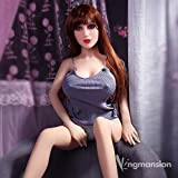 KingMansion 140cm (4.59ft) Sex Angel Doll with Metal Skeleton Natural Skin 3 Entries Lifelike Sex Toy