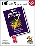 Office X for MacIntosh: The Missing Manual, Nan Barber, Tonya Engst, David Reynolds, 0596003323