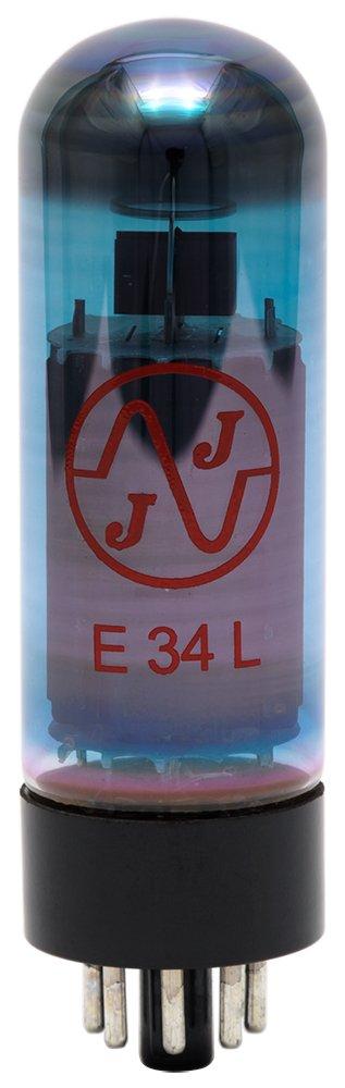 JJ E34L Blue /MH マッチド6本組 ストレート/T 傍熱5極管 TJJE34LBLUE/MH MH マッチド6本組  B00FB0IZZ6