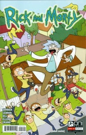 Download Rick and Morty #1 2nd Print PDF
