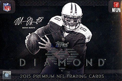 Sports Trading Cards Hobby Box (Topps Diamond 2015 Premium NFL Trading Cards Hobby)